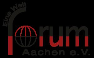 Logo des Eine Welt Forums Aachen